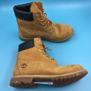 Timberland Six Inch Workboot Boots DR00288 Sz 9